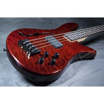 Custom Spector SpectorCore 4 Bass With Walnut Stain Gloss Finish