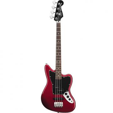 Custom Squier Vintage Modified Jaguar Bass Special SS Candy Apple Red Short Scale 4-String Electric Bass