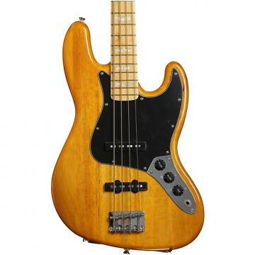 Custom Squier '77 Vintage Modified Jazz Bass - Amber