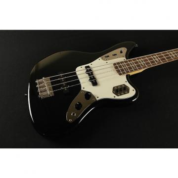 Custom Fender Jaguar Bass Japan - Bound Rosewood Fretboard Block Inlays- Black