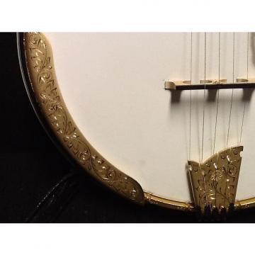 Custom Ome custom Artist Millenium banjo 2005  (blue/purple)