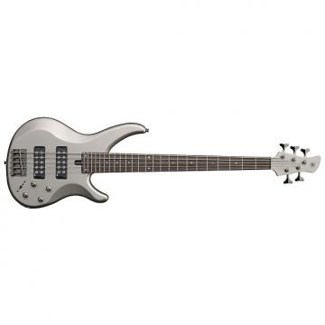 Custom Yamaha TRBX305 5-String Electric Bass Guitar Pewter