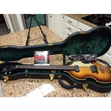 Custom Hofner 500/1 Beatle Bass 2005 Sunburst