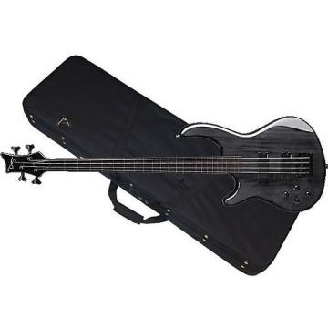 Custom DEAN Edge 4 LEFTY 4-string BASS guitar NEW Trans Black w/ CASE - LEFT-HANDED