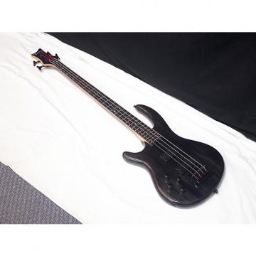 Custom DEAN Edge 4 LEFTY 4-string BASS guitar NEW Trans Black - LEFT-HANDED - Grovers