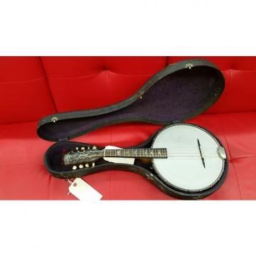 Custom Orpheum No. 1 Banjolin (Banjo/ Mandolin) with Case 1922 Natural: New Lower Price!