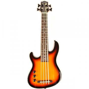 Custom Hadean Hadean Bass Uke UKBE-20 SB Left Handed