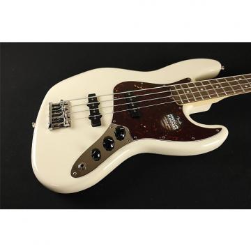Custom Fender American Standard Jazz Bass Rosewood Fingerboard Olympic White 0193700705 (316)