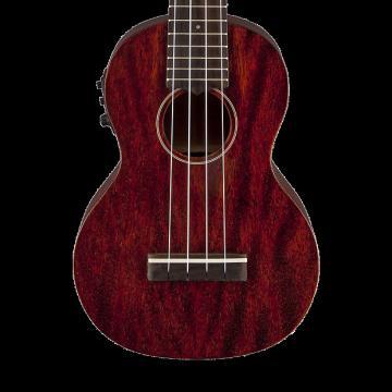 Custom Gretsch G9110-L Concert Long-Neck Acoustic Electric Ukulele with Gig Bag
