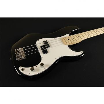 Custom Fender Standard Precision Bass Maple Fingerboard Black 0146102506 (123)