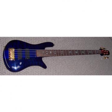 Custom Spector NS-5 XL 1999 Blue Burst