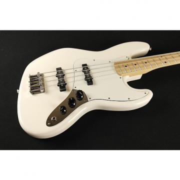Custom Fender Standard Jazz Bass Maple Fingerboard Arctic White 0146202580 (470)