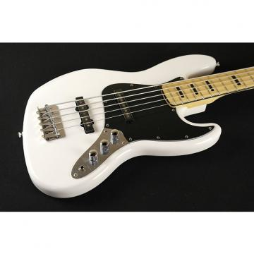 Custom Squier by Fender Vintage Modified Jazz Bass V - Olympic White (339)