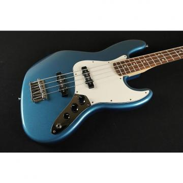 Custom Fender Standard Jazz Bass Rosewood Fingerboard Lake Placid Blue 3-Ply Parchment Pickguard 0146200502 (405)