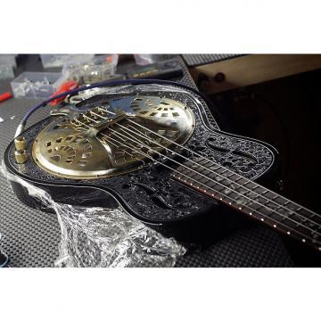 "Custom Bluebird '56 Reso Bass ""My Belle"" 2015 Black & Gold"