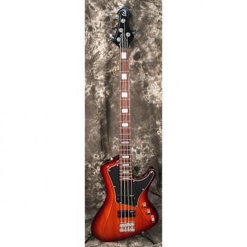Custom 2016 ESP LTD Stream-204 Electric Bass Guitar Tobacco Sunburst