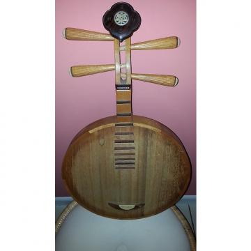 Custom Yueqin Moon Guitar Ancient Chinese musical instrument Rosewood/Bone/Ivory * RARE