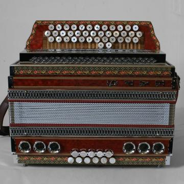 Custom Kaps Diatonic Button Accordion