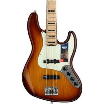 Custom Fender American Elite Jazz Bass - Tobacco Sunburst, Maple Fingerboard