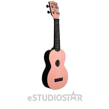 Custom Kala MK-SWB/PK Makala Waterman Soprano Ukulele Soft Pink - Used Open Box