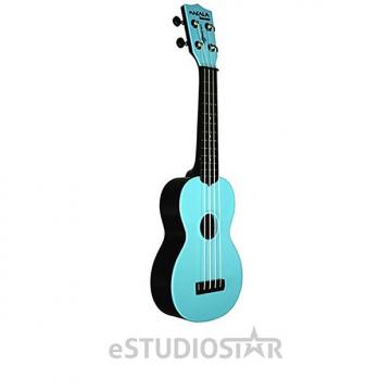 Custom Kala MK-SWB/BL Makala Waterman Soprano Ukulele Aqua Blue - Used Open Box