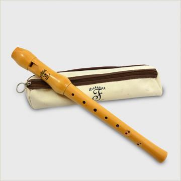 Custom Frederick  Soprano Wood Recorder Natural