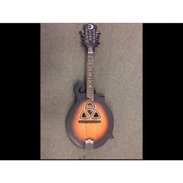Custom Luna F style mandolin Tobacco sunburst
