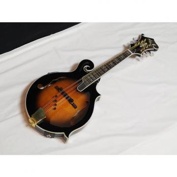 Custom MICHAEL KELLY Legacy Flame FSE acoustic electric MANDOLIN - Sunburst - blem