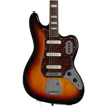 Custom Squier Vintage Modified Bass VI - 3-Color Sunburst