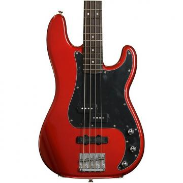Custom Squier Vintage Modified Precision Bass PJ - Candy Apple Red
