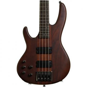 Custom ESP LTD D-4 Left Hand - 4 string Natural Satin