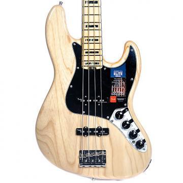 Custom Fender American Elite Jazz Bass Ash Natural