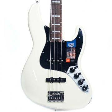Custom Fender American Elite Jazz Bass Olympic White