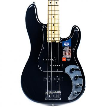 Custom Fender American Elite Precision Bass Black