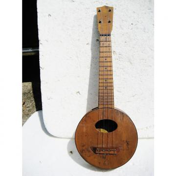 Custom Lyon & Healy Camp Uke, 1920's, Very Cool