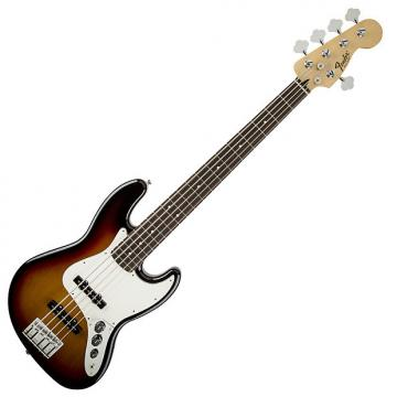 Custom Fender Standard Jazz Bass V Rosewood Fretboard, Brown Sunburst
