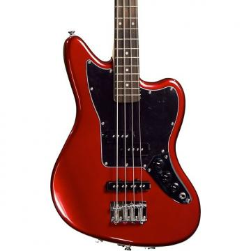 Custom Squier Vintage Modified Jaguar Bass Special SS - Candy Apple Red