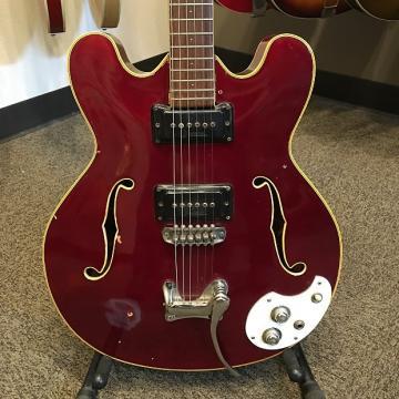 Custom Late 60's (65-68) Mosrite  Celebrity Red Electric Guitar