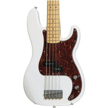 Custom Squier Vintage Modified P Bass V - Olympic White