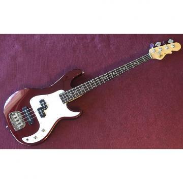 Custom G&L Tribute SB-2 4 String Bass Bordeaux Red