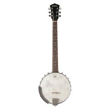 Custom Washburn B6 Open Back Six String Banjo