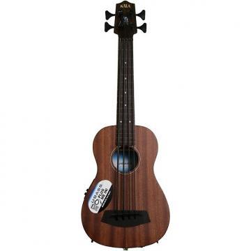 Custom Kala U-Bass Mahogany, Fretless - Natural