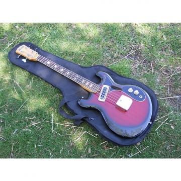 "Custom Vintage 60s Kimberly Bass Guitar, Japan, Ventures, Open Book Headstock, 25"" Scale"