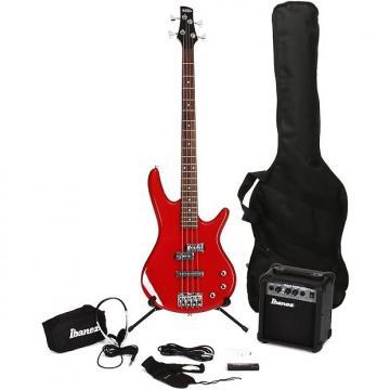 Custom Ibanez IJXB150B Jumpstart Bass Pack - Red