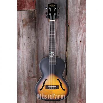 Custom Kala KA JTE 2TS Tenor Archtop Acoustic Electric Ukulele Uke w EQ 2 Tone Sunburst