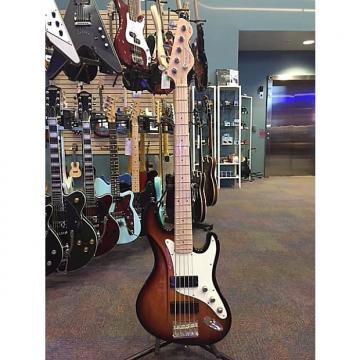 Custom Dean Zelinsky Mule Bass 5 2015 3 Tone Sunburst