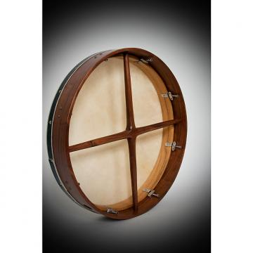 Custom Roosebeck Tunable Sheesham Bodhran Cross-Bar Double Layer Natural Head 18x3.5 BTN8RD