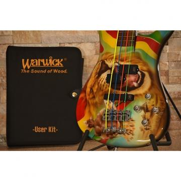 "Custom WARWICK Ltd. Edition TM Stevens Signature Bass ""Zooloo Warrior"""