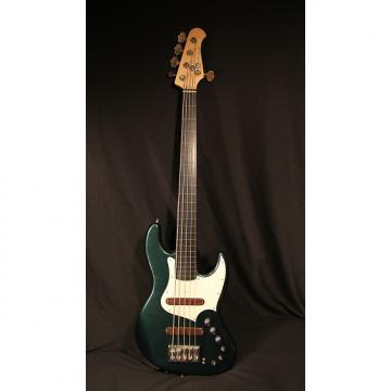 Custom Xotic Guitars Xotic XJ-1T Fretless Bass – 5 String 2011 Cadillac Green