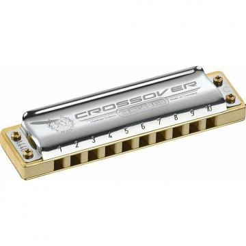 Custom Hohner Crossover Marine Band Harmonica, Key of A. New, with Full Warranty!